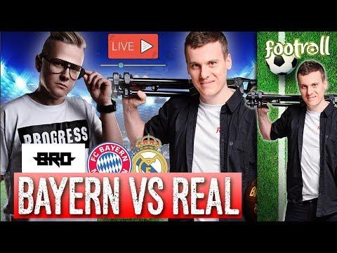 OGLĄDAMY z B.R.O | Bayern Monachium vs Real Madryt
