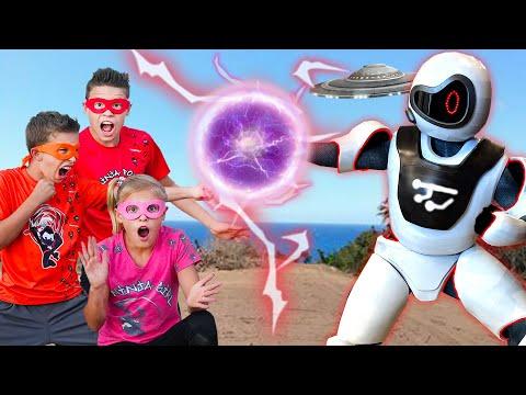 We Found A Giant Ninja Battle Robot!