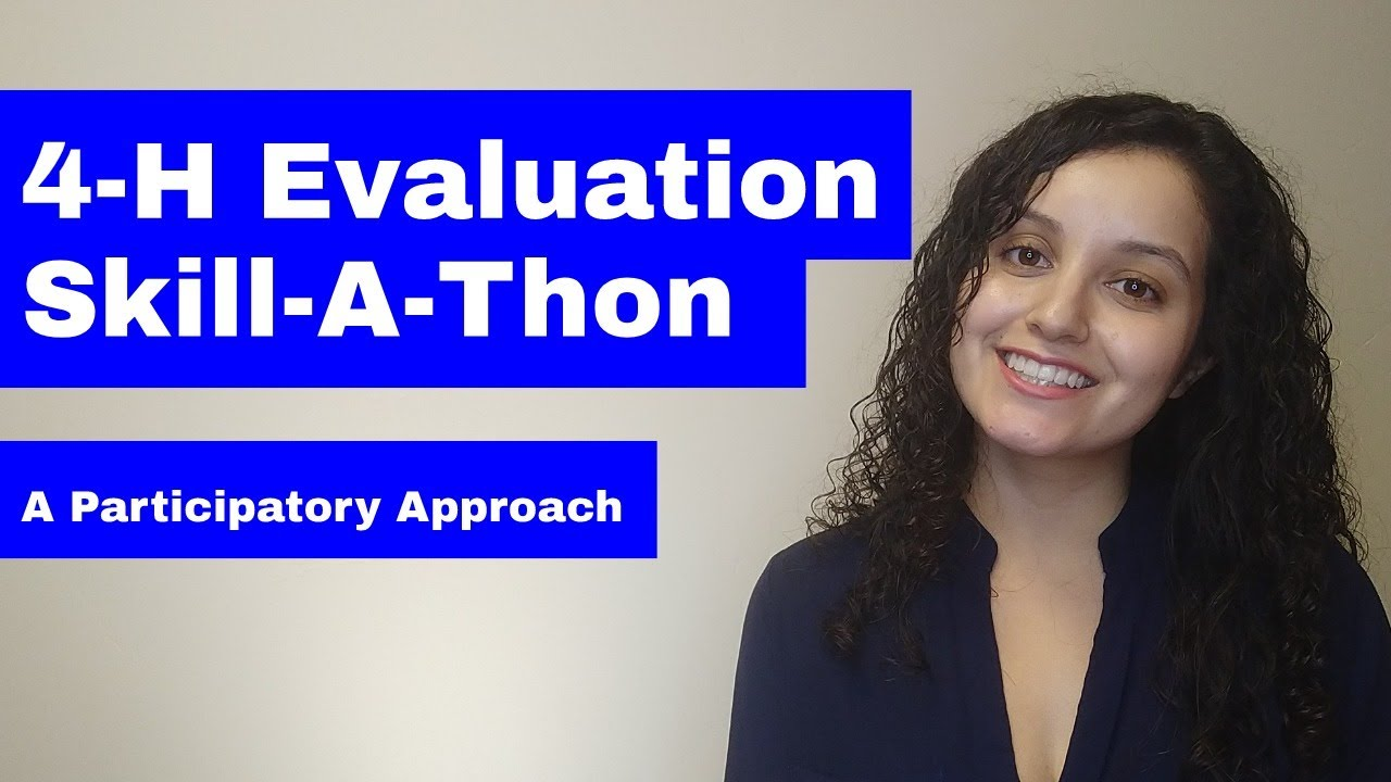 Participatory Evaluation (Easy 4-H Example)