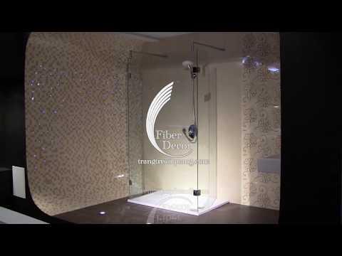 Trần sao nhân tao - trang trí nhà tắm
