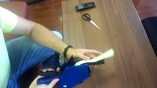 видео Лента для этикет пистолетов