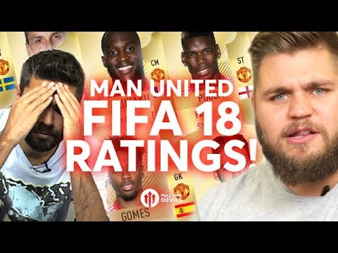 FIFA 18 MANCHESTER UNITED RATINGS REVEALED!!!