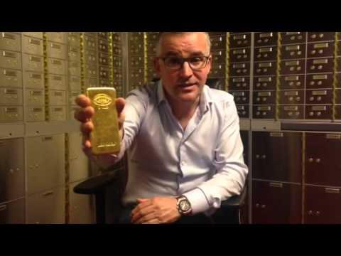 Merrion Gold 1 kilo Gold Bar