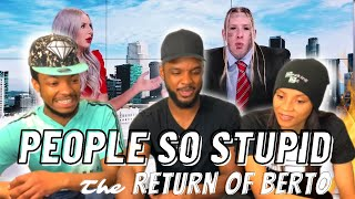 🎵 Tom Macdonald People So Stupid Reaction | The Return of Berto