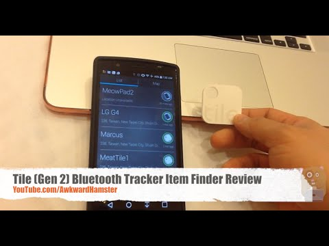 Tile Gen 2 Bluetooth Tracker Item Finder Review Youtube