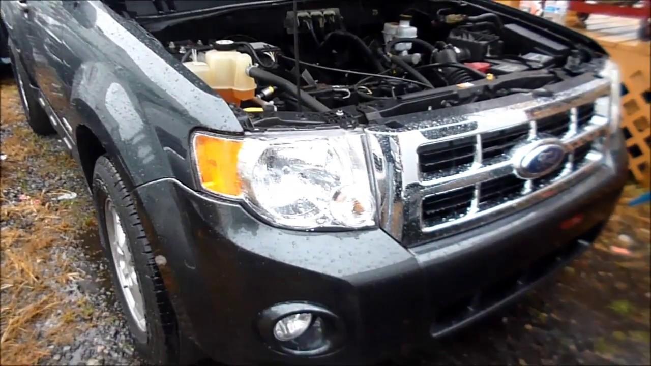 Ford Escape Mercury Mariner Fuel Inertia Shutoff Switch Location