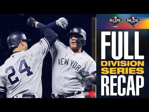 Full 2019 MLB Division Series Recap   MLB Highlights