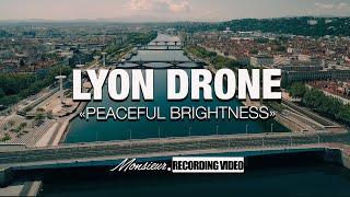 Lyon, vue d'en haut |Confinement - Covid 19 |Vidéo Drone 4K