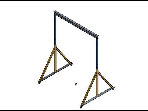 How to Design Gantry Crane Part I