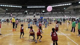 小學組氣球排球 亮點 防守得有板有眼!