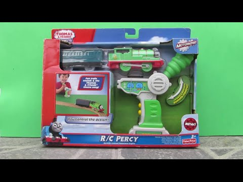 Thomas and Friends Percy Remote Control R/C Trackmaster Train - Thomas Controle Remoto