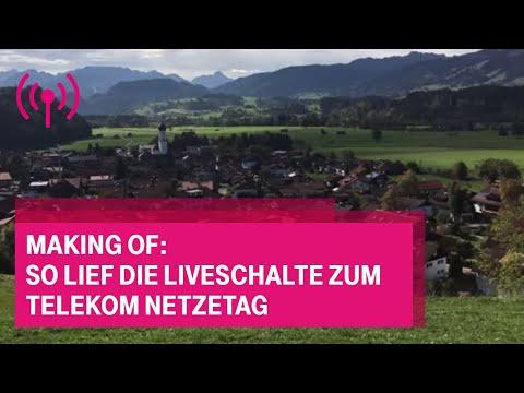 Social Media Post: Making of: So lief die Liveschalte zum Telekom Netzetag