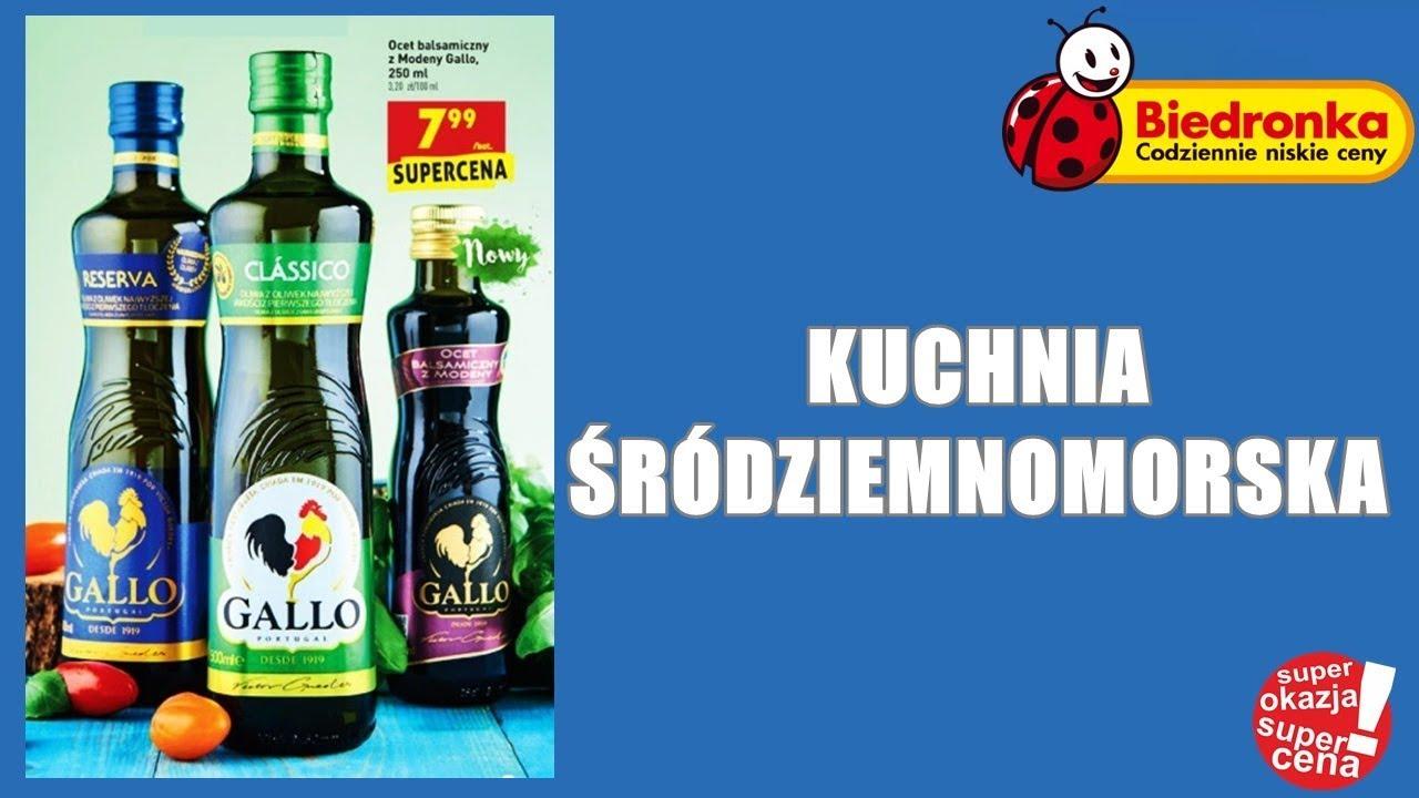 Nowa Gazetka Biedronka Od 30072018 Kuchnia śródziemnomorska