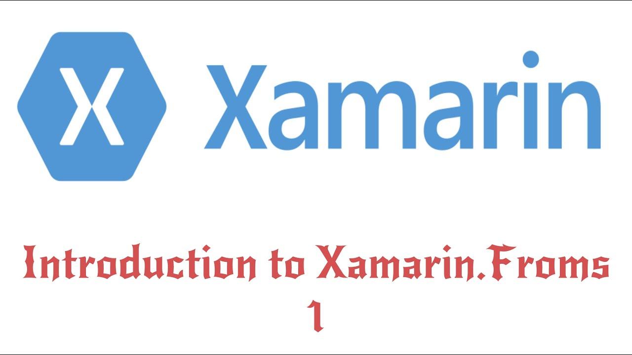 Xamarin forms crossplatform deep dive contentpage (button image.