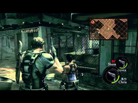 Resident Evil 5 Gold Edition Chapter 1 2 Gameplay 1 Ps3 Move