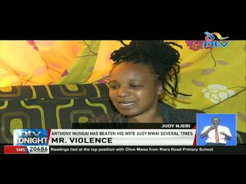 A man gets arrested for assaulting his wife in Kiserian, Kajiado county