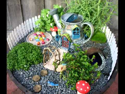 Fairy Garden Ideas I Fairy Garden Accessory Ideas YouTube