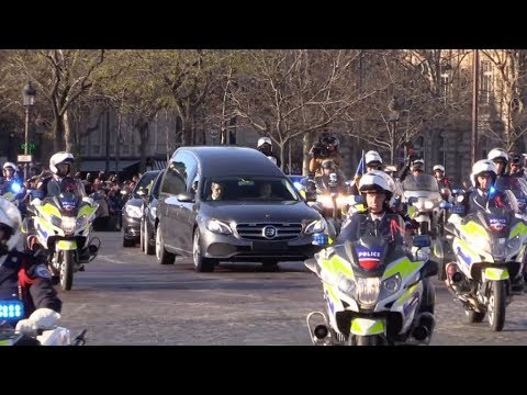 Johnny Hallyday Funeral Procession At La Madeleine Church, In Paris