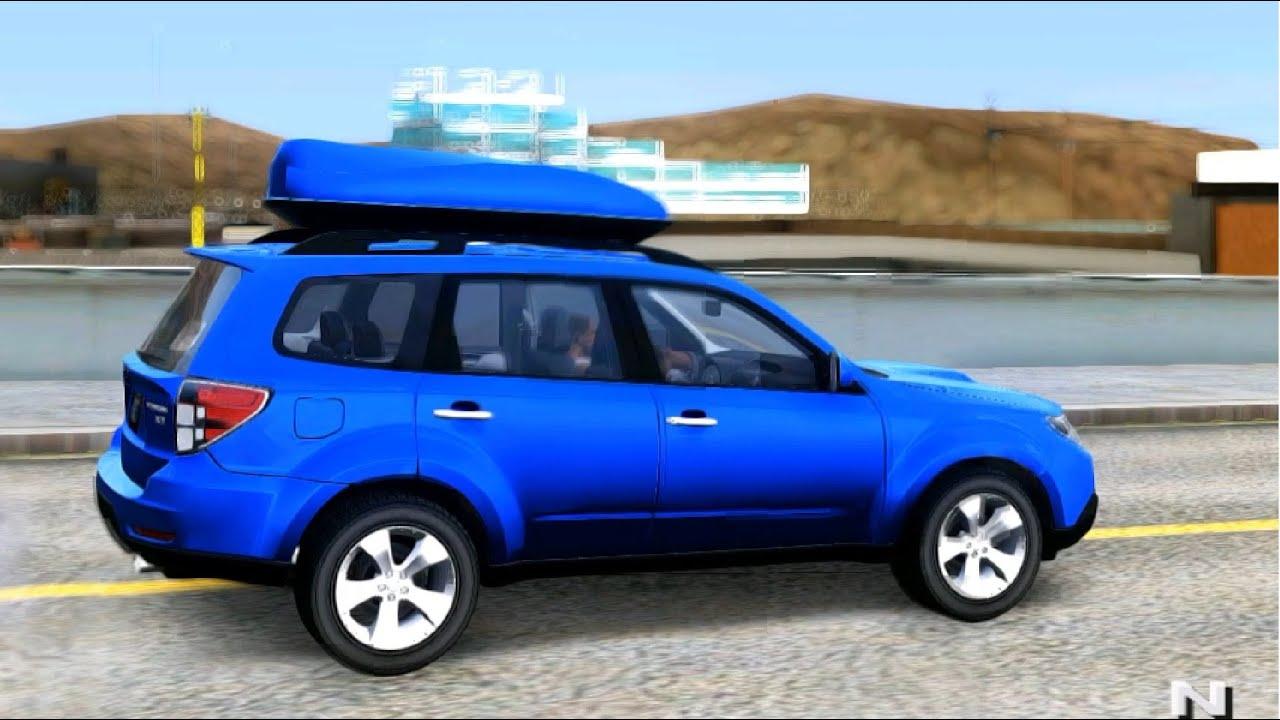 Subaru forester xt 2008 gta mod youtube subaru forester xt 2008 gta mod vanachro Gallery
