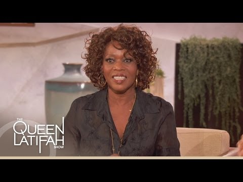 Alfre Woodard's Prayer Cloth on The Queen Latifah