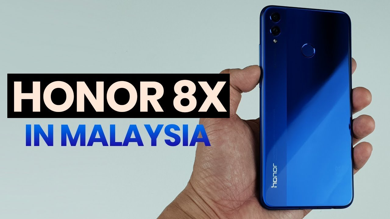 honor 8X Malaysia: Here's everything you need to know