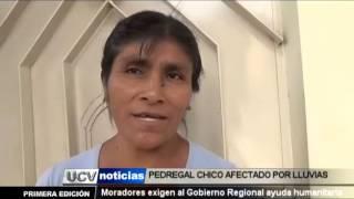 PEDREGAL CHICO AFECTADO POR LAS LLUVIAS-UCV NOTICIAS PIURA