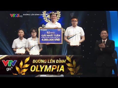 kênh ĐƯỜNG LÊN ĐỈNH OLYMPIA 17 | CUỘC THI TUẦN 3, THÁNG 2, 2017