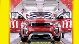 Видео сборки и производства новых автомобилей 2017