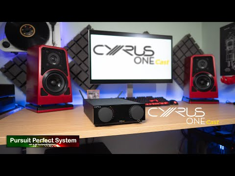 NEW Cyrus Audio ONE Cast Are You A SMART Audiophile ? HiFi Streaming Amplifier @ UK Launch Event