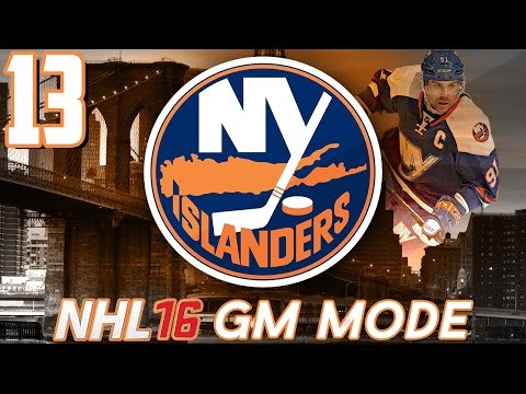 "NHL 16 - New York Islanders GM Mode #13 ""Stupid Tax"""