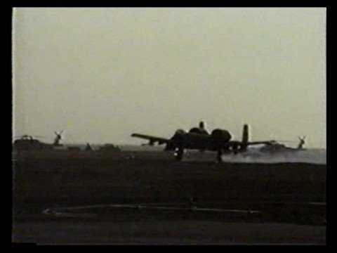 A 10 Warthog Battle-damaged 926th T...