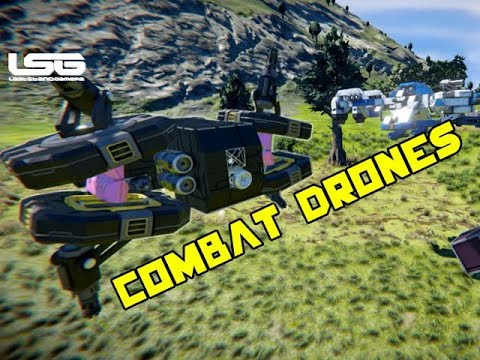 The Best Combat Battle Drones - Space Engineers