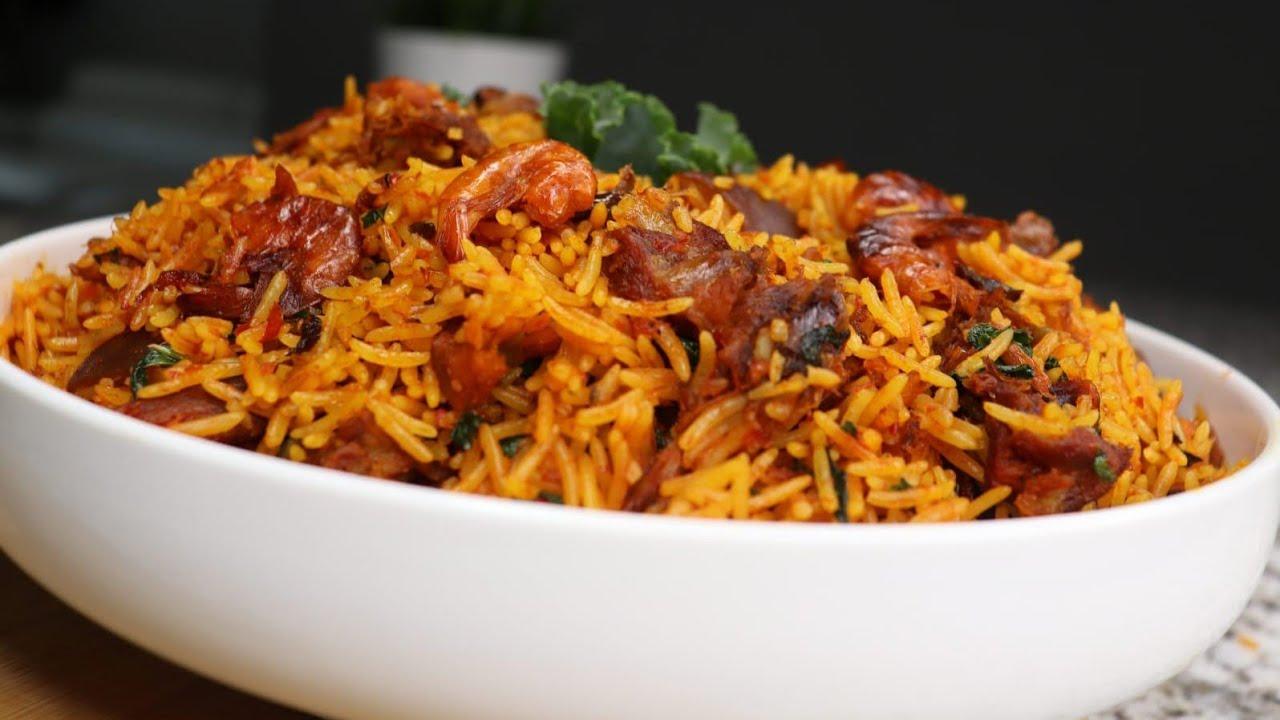 NATIVE JOLLOF RICE| IWUK EDESI || African food recipes. TIPS EXPLAINED!
