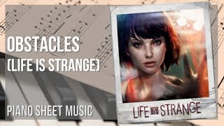 EASY Piano Sheet Music: How to play Obstacles (Life is Strange) by Syd Matters