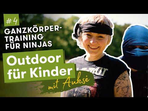 Aukse TV | Outdoor für Kinder | Ganzkörpertraining für Ninjas