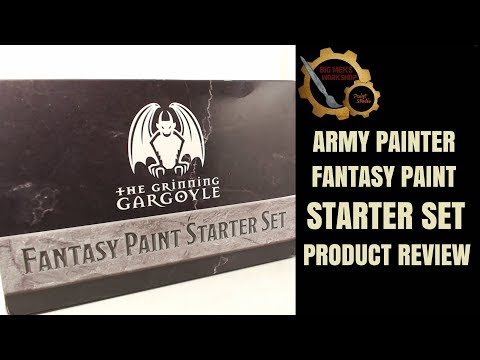 Army Painter Fantasy Paint Starter Set Product Review