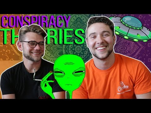 I WAS ABDUCTED BY ALIENS - Stoned Conspiracy Theories (ft. Arend Richard)