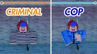 HOW TO LEVEL UP CRIMINAL AND COP FAST ON JAILBREAK! (Roblox)