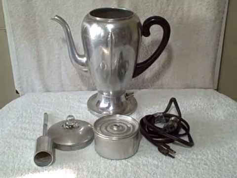Vintage Electric Coffee Pots 9