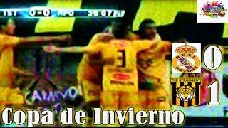 Real Potosi 0 vs THE STRONGEST 1, Relato El Derribador, Copa de Invierno Cine Center 2015
