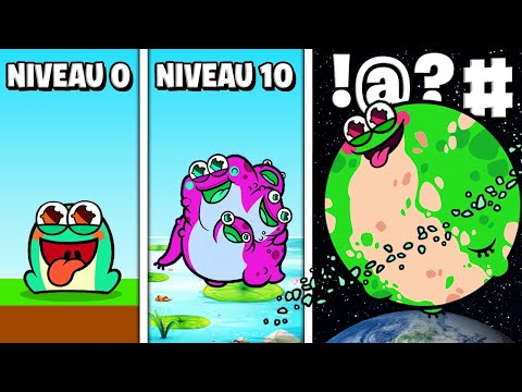 LA MEILLEURE ÉVOLUTION DE CRAPAUD !! (Toadled)