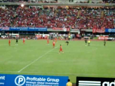 Singapore vs Liverpool 260709 - Match Clips Part 13/20 (Here comes Reina, Dossena, Alonso)
