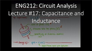 ENG212-17: Capacitance and Inductance (Chapter #06, Lecture #17).