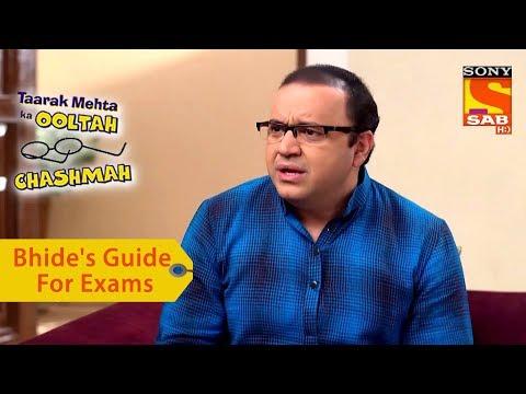 Your Favorite Character | Bhide's Guide For Exams | Taarak Mehta Ka Ooltah Chashmah