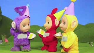 Teletubbies | A Dipsy Party | Teletubbies Stop Motion | Cartoons for Children