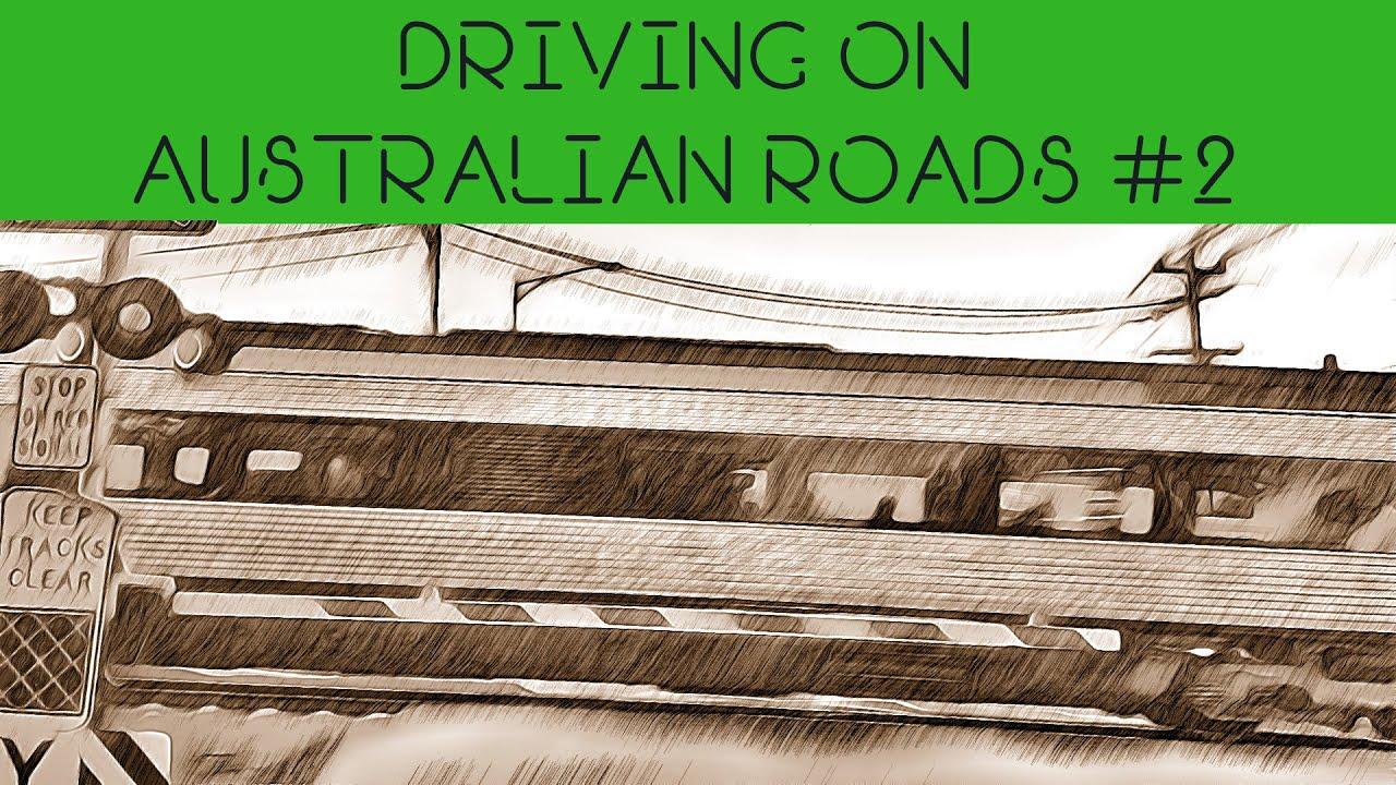 Driving on Australian Roads #2 *** No Talking Video