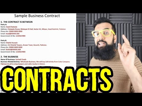 Free Business Partnership Contract Template | Make Money Not Tooti Partnerships | Azad Chaiwala Show