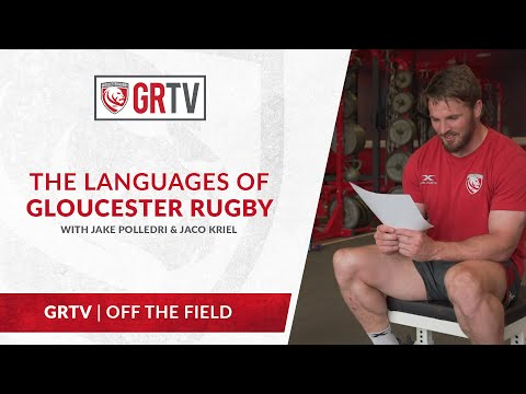 The Languages of Gloucester Rugby with Jake Polledri and Jaco Kriel
