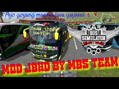 MOD BUSSID jbhd BY MBS TEAM FREE #1