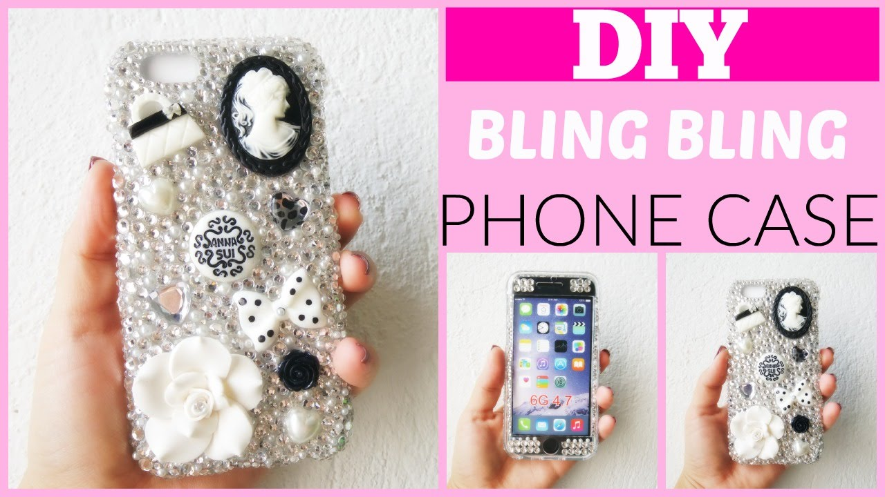 Como decorar una funda para celular con piedras por - Decorar funda movil ...